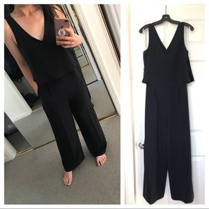 Zara Navy Jumpsuit