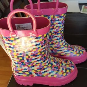 Other - NWOT girls rain boots 9
