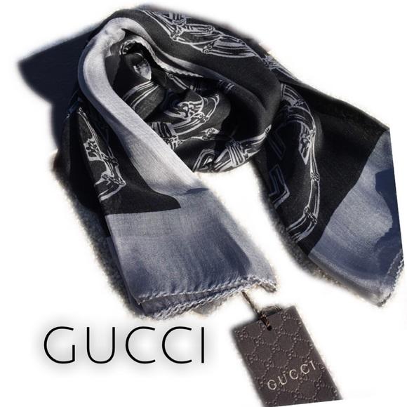 fa7d5c4c4 Gucci Accessories | Today Only Burtory Silk Scarf | Poshmark