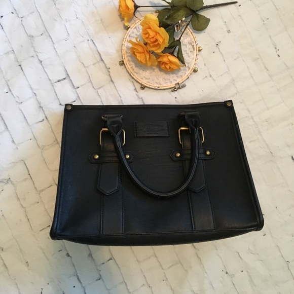 GH Bass & Co. Handbags - Simple Square Structured Purse