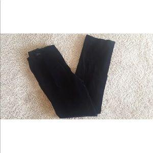 Banana Republic Velvet Stretch Straight Leg Pants