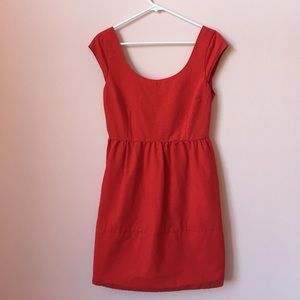 American Eagle Red Holiday Dress