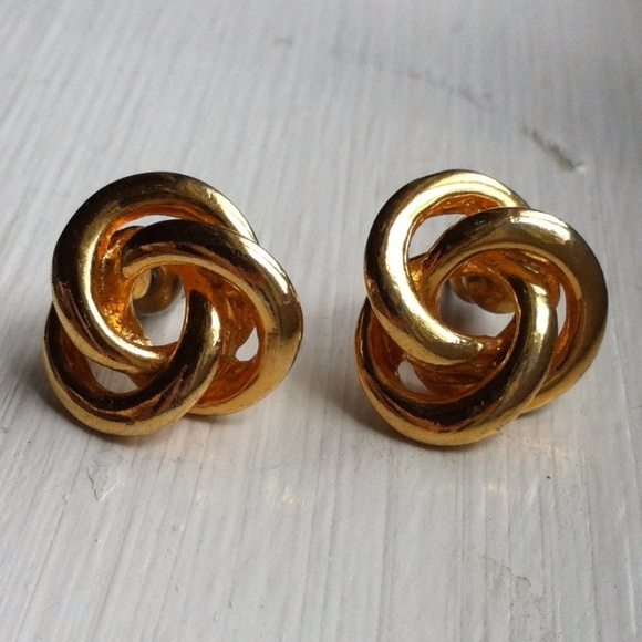 Marks & Spencer Gold Plated Twisting Knot Pierced