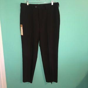 NWT Hagar Men's Black Dress Pants