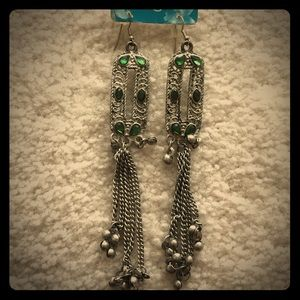 Shoulder grazing earrings from Urban Outfitters