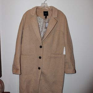 NWT camel coat