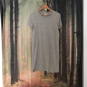 Lou & Grey Grey T-Shirt Dress