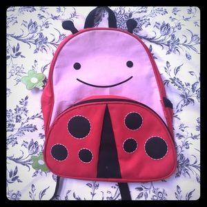 Skip Hop ladybug toddler backpack