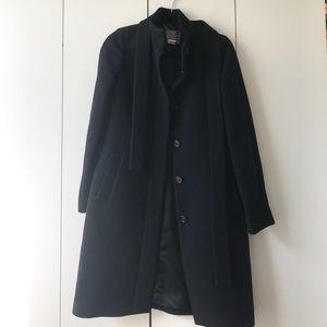 J. Crew - Double Cloth Wool Coat w/ Belt
