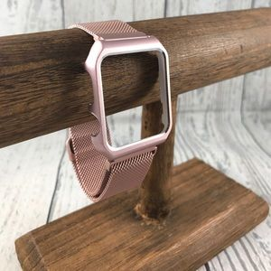 38mm Pink Rose Gold Band/Case for Apple Watch