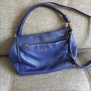 Blue kate spade handbag purse shoulder bag