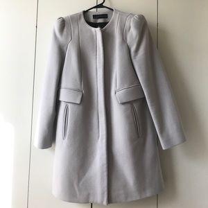 Zara - Grey Coat w/ Zipper