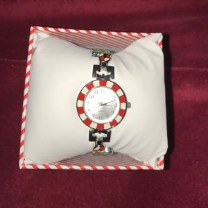 Candy cane watch