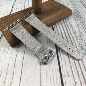 38mm Silver Glittery Band for Apple Watch