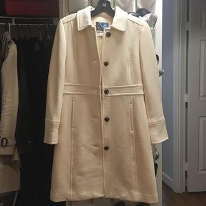 Jcrew iconic white lady day coat w/ Thinsulate(TM)