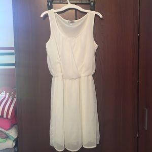 Speechless white chiffon dress