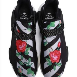 adidas nmd off white flower