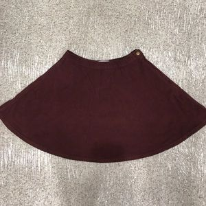 American Apparel Corduroy Skirt Size Medium