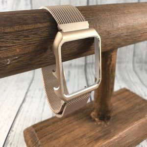 38mm Champagne Gold Band/Fram 4 Apple Watch