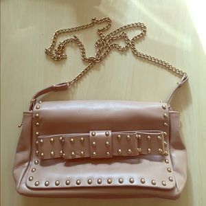 Zara Faux Leather Crossbody Bag