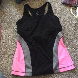 90 Degrees by Reflex Workout shirt size L