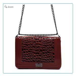 Handbags - NEW Croco Box Crossbody