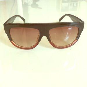 Women's Shadow Sunglasses Green/Tortoise Color