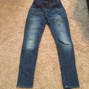Gap maternity always skinny jeans