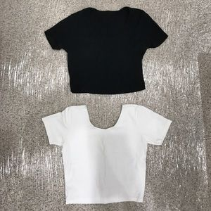 American Apparel Crop Tops Size Large