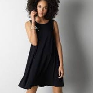 Don't Ask Why Black Sleeveless Tee Dress