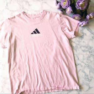 Adidas   Pink Tee