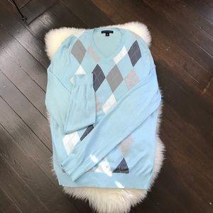 EUC Banana Republic Argyle Sweater