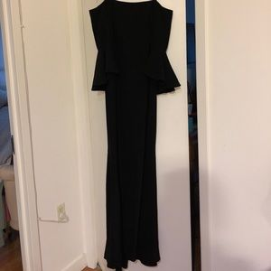 Vince Camuto long black gown