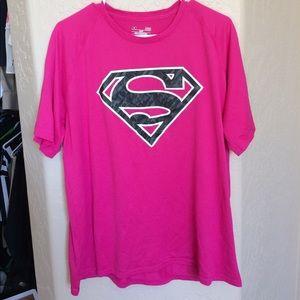 Pink Supergirl shirt