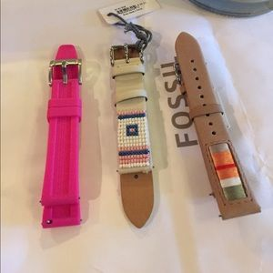 18mm watch band lot