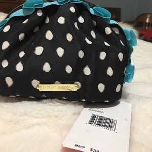 NWT Betsey Johnson Makeup Bag