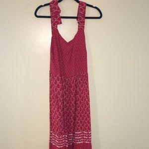 Eloquii red summer dress so cute as 18 w/ pockets!