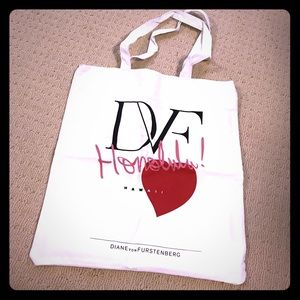 New DVF tote bag