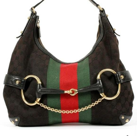 a0dd59e9fbd Gucci Handbags -   Authentic    Gucci Black Purse