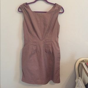 Blush zip up dress