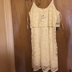 White Express Dress NWT