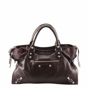 Balenciaga Giant 12 City Leather Satchel (136320)