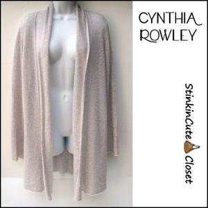 Cynthia Rowley Cashmere Cascade Cardigan Sweater