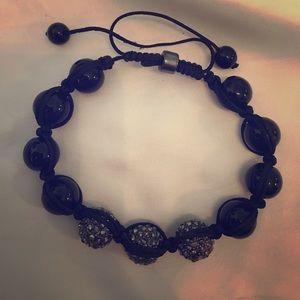 Black&Silver-New Costume adj Bracelet 🌓🗝🖤🌹🖤😘