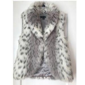 ABS Allen Schwartz Luxury Collection Fur Vest