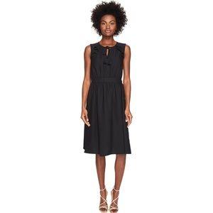 NWOT Kate Spade Sleeveless Crepe Tie-Front Dress