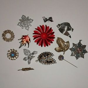Jewelry - Antique Brooches