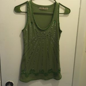 New Miss Me Tank top!  Great details!