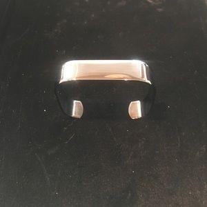 Cuff Bracelet in Gunmetal.