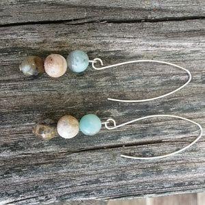 SELECT AMAZONITE gradient gemstone beads! Gorgeous